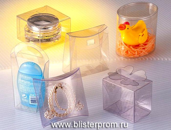 Пластиковая упаковка для косметики